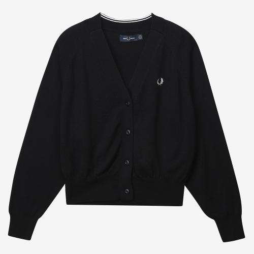 V Neck Knit Cardigan (J07)