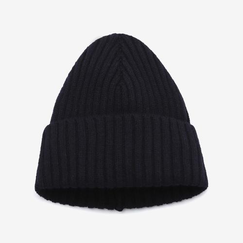 2/2 Ribbed Stitch Hat (NVY)