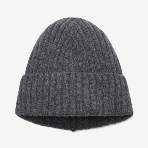 2/2 Ribbed Stitch Hat (GRY)