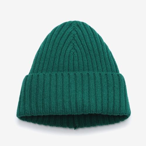 2/2 Ribbed Stitch Hat (GRN)