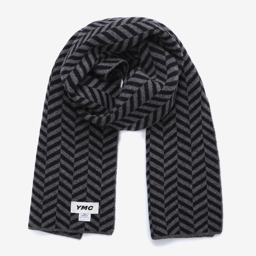 Small Chevron Scarf (NVY)