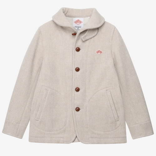 Round Collar Jacket (BEG)
