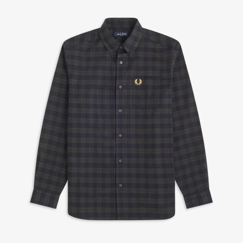 [Authentic] 마이크로 타탄 셔츠 (608)
