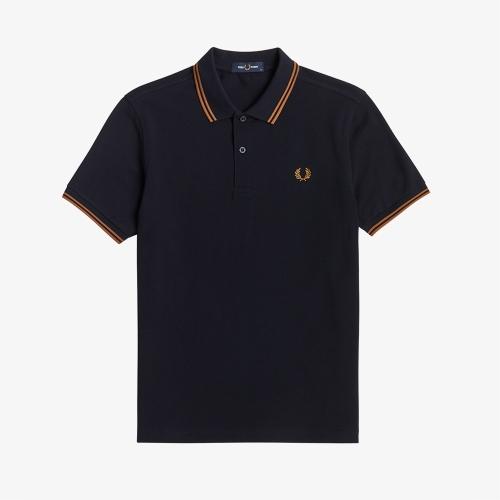[M3600] 트윈 팁 프레드 페리 셔츠 (M68)