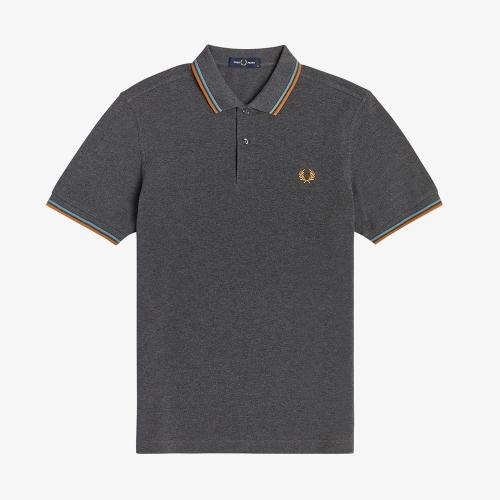 [M3600] 트윈 팁 프레드 페리 셔츠 (M67)