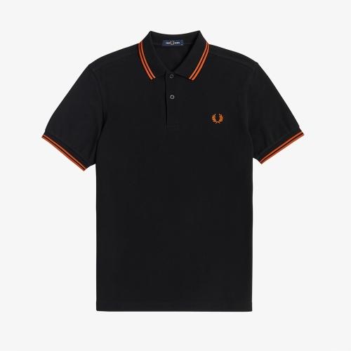 [M3600] 트윈 팁 프레드 페리 셔츠 (M64)