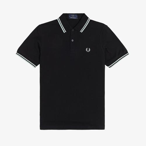[M12] 트윈 팁 프레드 페리 셔츠 (M74)