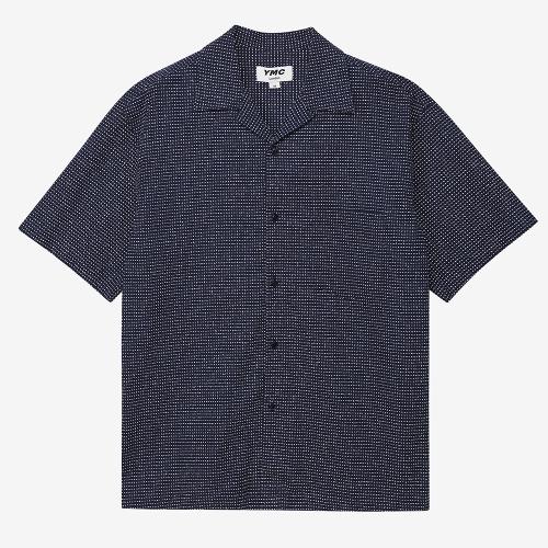 미첨 S/S 셔츠 (NVY)
