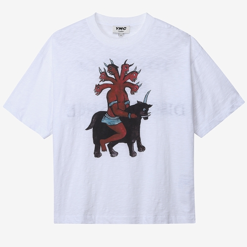 6 헤드 데몬 트리플 티셔츠 (CRM)