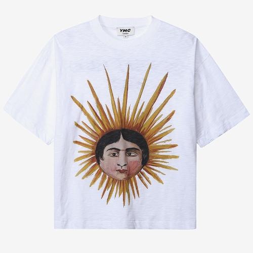 선 헤드 트리플 티셔츠 (CRM)