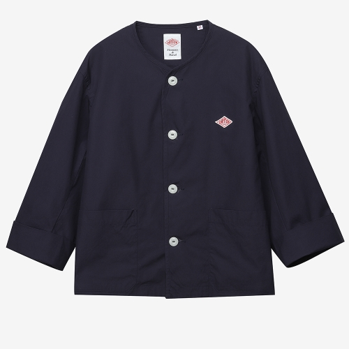 No Collar Jacket (NVY)