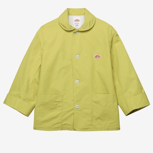 Round Collar Jacket (YEL)