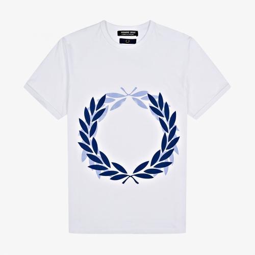 [CDG] CDG 로렐 프린트 티셔츠 (100)