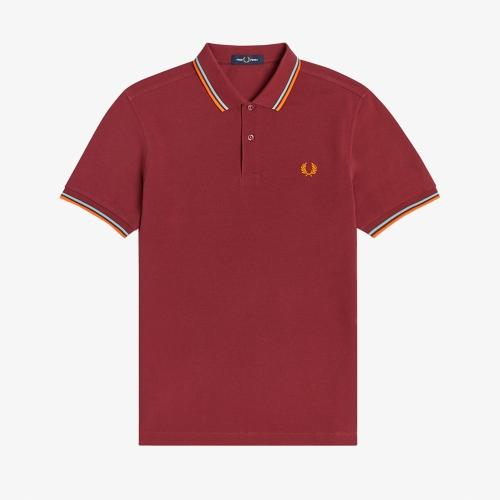 [M3600] 트윈 팁 프레드 페리 셔츠 (924)
