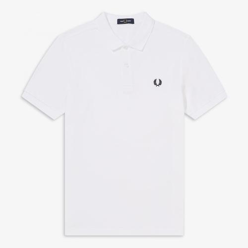[M6000] 플레인 프레드페리 셔츠 (100)