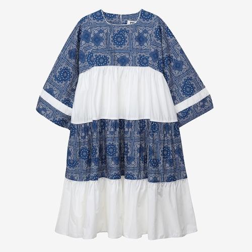 쁘띠 팔로마 드레스 (BLU)
