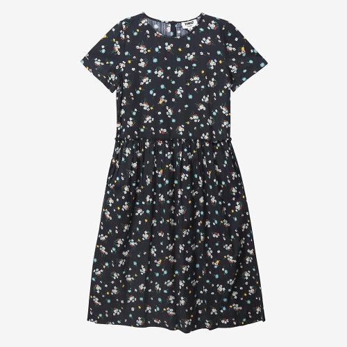 퍼핵스 드레스 (BLK)