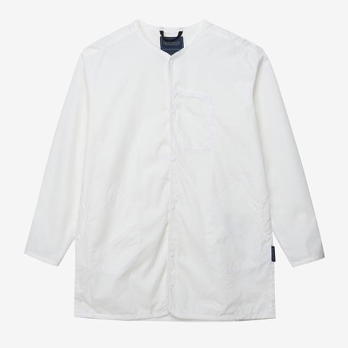 롱 슬리브 셔츠 레이디즈 (WHT)