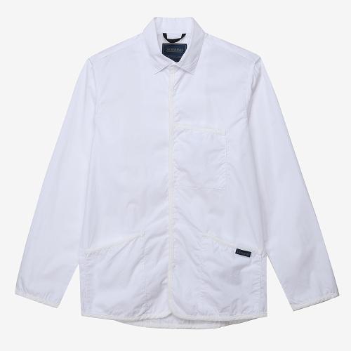 롱 슬리브 셔츠 맨즈 (WHT)