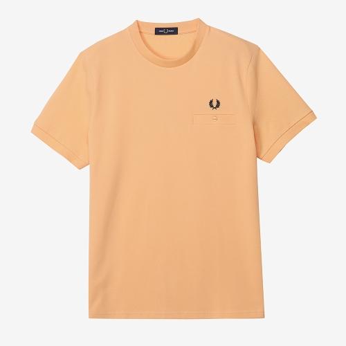 [Sharp] 포켓 디테일 피케 티셔츠 (M34)