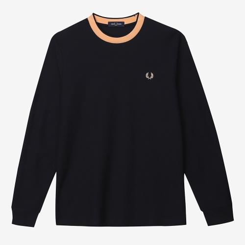 [Sharp] 크레이프 저지 긴팔 티셔츠 (608)