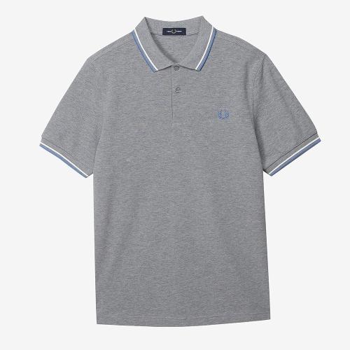 [M3600] 트윈 팁 프레드 페리 셔츠 (M87)