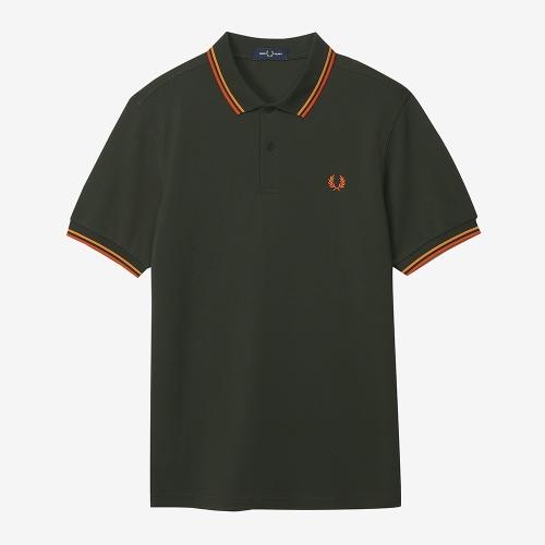 [M3600] 트윈 팁 프레드 페리 셔츠 (M85)