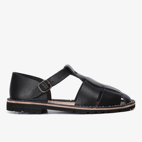 Artisanal Sandals 10/17 (BLK)