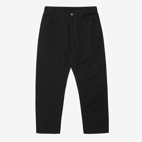 Straight Pants (BLK)