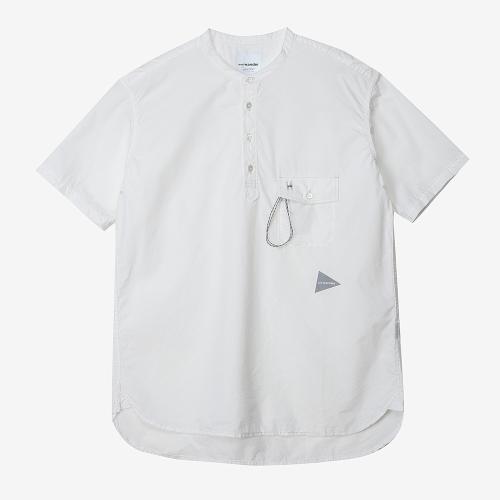 Cordura Typewriter Short Sleeve Over Shirts (WHT)