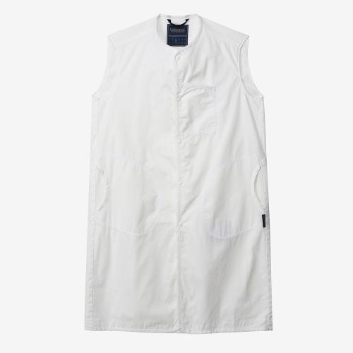 슬리브리스 셔츠 레이디즈 (WHT)