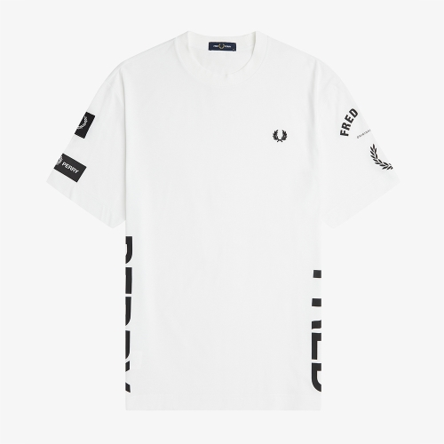 [Sport] 볼드 브랜딩 티셔츠 (100)