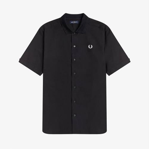 [Sharp] 플랫 니트 칼라 셔츠 (102)