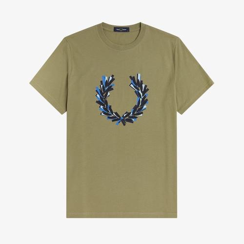 [Sport] 글리치드 로렐 리스 티셔츠 (H04)