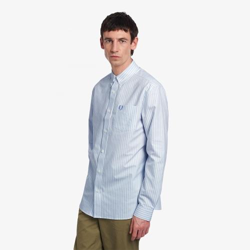 [Sharp] 스트라이프 옥스포드 셔츠 (146)