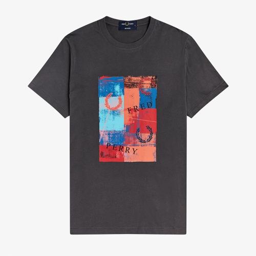 [Reissues] 앱스트랙트 프린트 티셔츠 (G85)