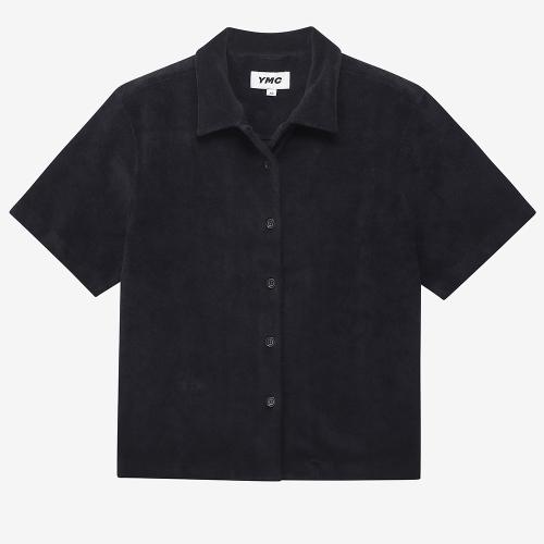 쇼트 슬리브 베가스 셔츠 (BLK)