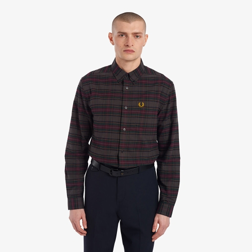 [Sharp] 토널 타탄 셔츠 (102)