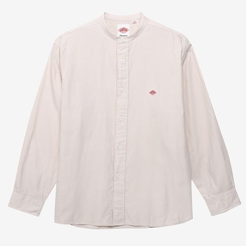 Band Collar Shirt L/S (ECR)