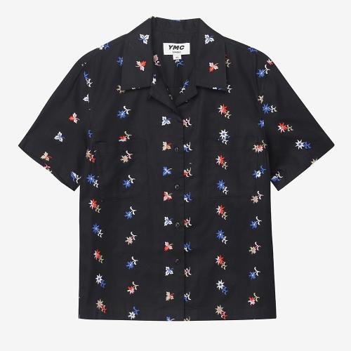 베가스 숏 슬리브 셔츠  (BLK)