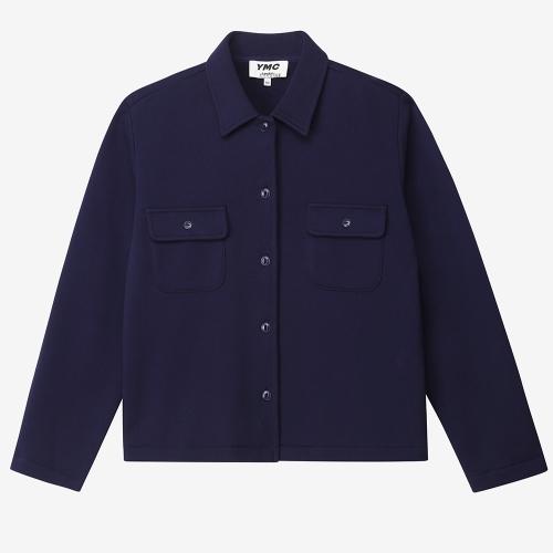 베가스 롱 슬리브 셔츠  (NVY)