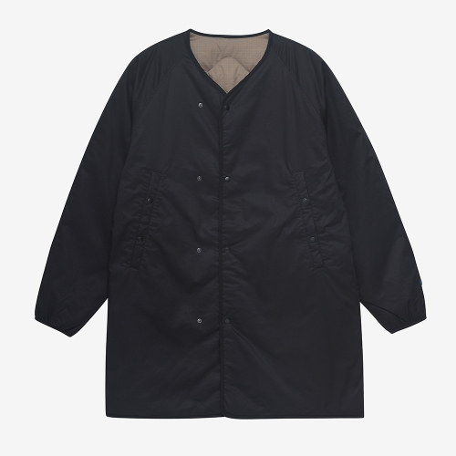 Reversible Down Coat (BLK)