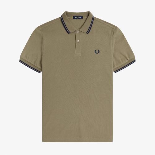 [M3600] 트윈 팁 프레드페리 셔츠 (N47)