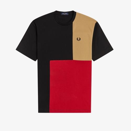 [Sport] 컬러 블럭 티셔츠 (102)