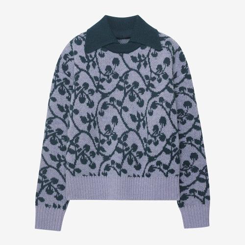 Lierre Detachable Collar Sweater (PUR)