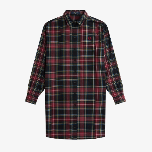 [Womens] 타탄 셔츠 드레스 (102)