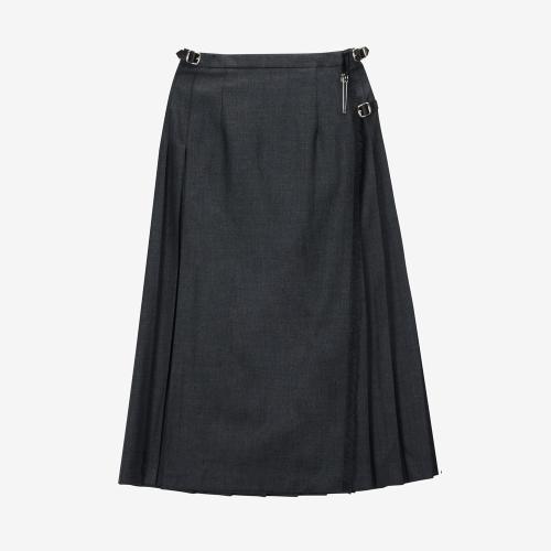 Classic Long Kilt (GRY)