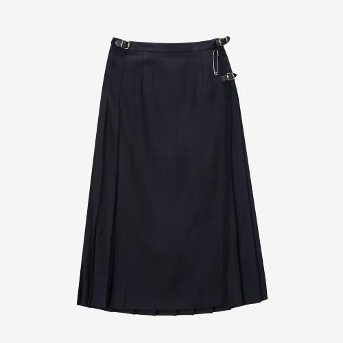Classic Long Kilt (NVY)