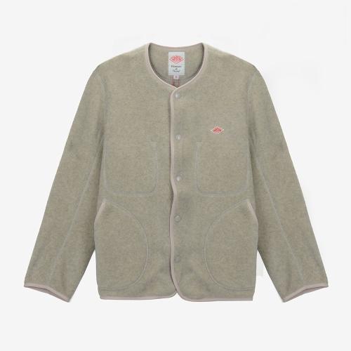 Fleece Collarless Jacket (ECR)